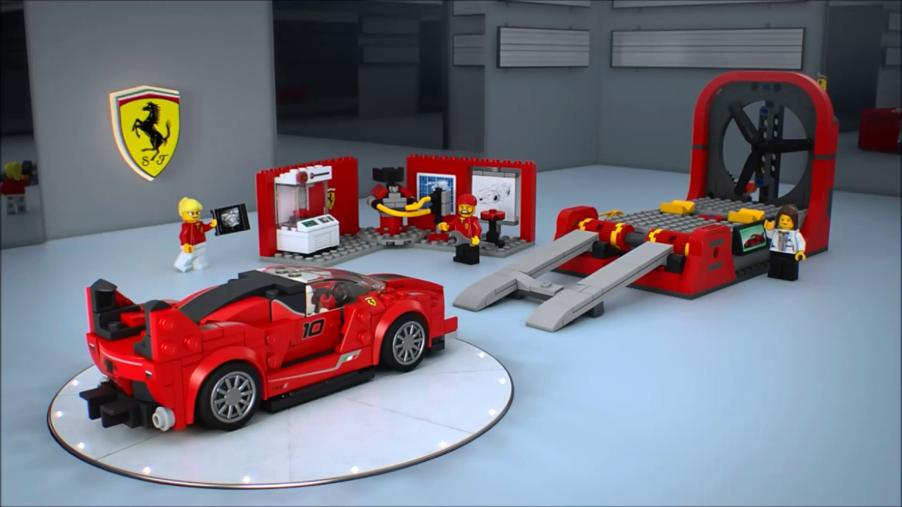 smyths toys lego speed champions ferrari fxx k development center 75882 youtube. Black Bedroom Furniture Sets. Home Design Ideas