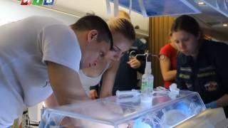 Санборт МЧС доставил из Крыма в Санкт-Петербург двух детей, нуждавшихся в срочной медпомощи