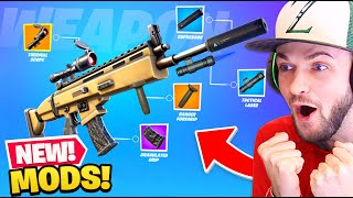 *NEW* WEAPON MODS coming to Fortnite! (NEW UPDATE, SKINS + MORE)