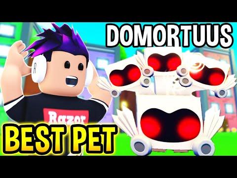 I Got SECRET DOMORTUUS Pet In Pet Simulator X Roblox