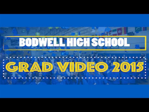 Bodwell High School - Grad 2015 video ( Shake it Off )