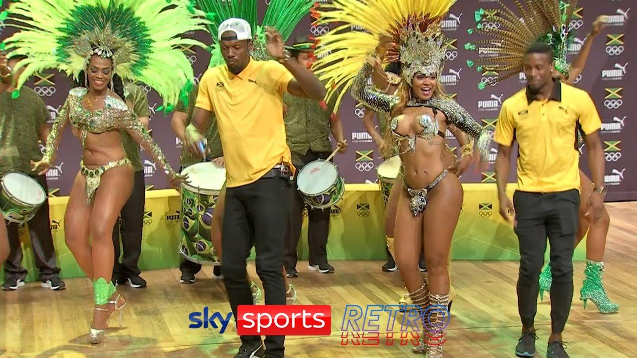 Usain Bolt samba dancing