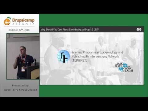 DrupalCamp Atlanta 2016: Creating a Culture of Giving in Your Organization (Keynote) on YouTube