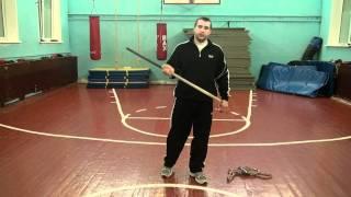 Николай ВДВ Упражнения с ломом для кистей рук, подготовка для ударов руками.