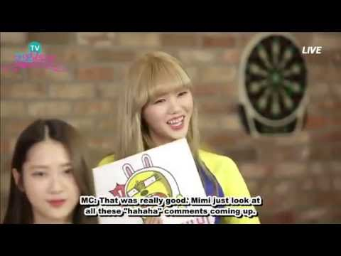 [ENG SUB] 160419 Park Sohyun's HeyoTV Live Idol TV with Oh My Girl