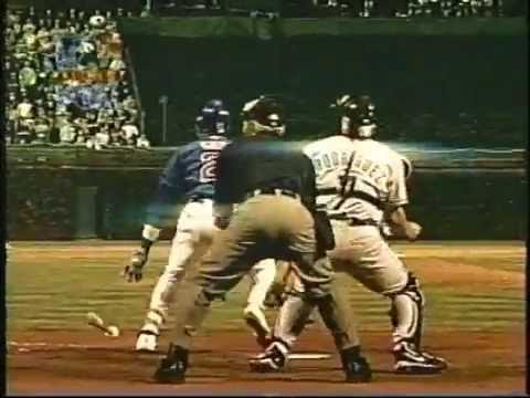 Cubs-Marlins, Oct. 8, 2003 (Game 2, pregame, 1st inning)