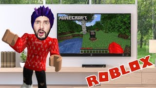 Roblox: IF ROBLOX WILL BE MINECRAFT! KAAN PLAYS MINEBLOX & VERSUCHT TO SURVIVE!