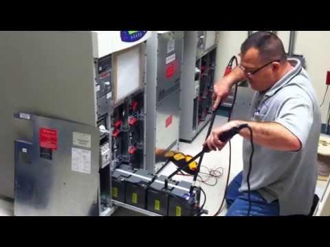 Preventative Maintenance Inspection on UPS batteries for data center