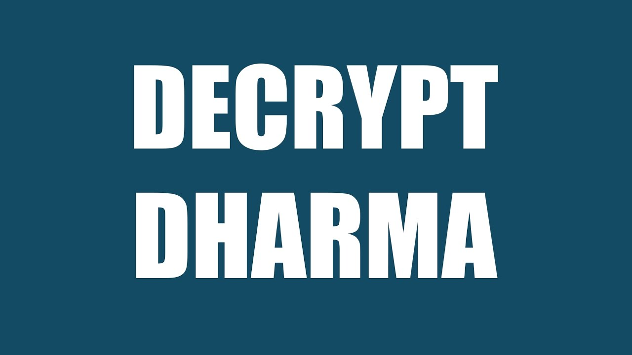 Files Locked by Dharma Ransomware Variants Can Now Be Decrypted