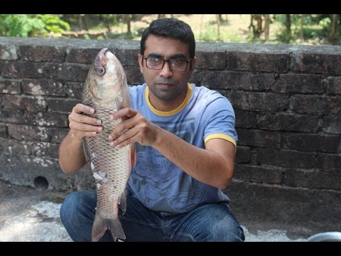 Village Food | Rui fish curry | Fish curry recipe village style