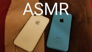 ASMR tapping and scratching Phone collection!