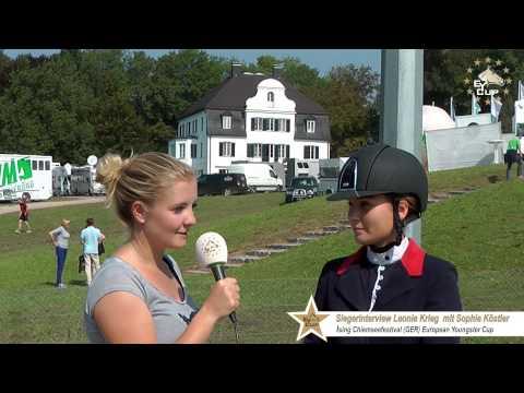 Interview Sieger Leonie Krieg (GER) Chiemseefestival ISING (GER) Moderation Sophie Köstler