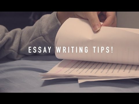 Essay Writing Tips!