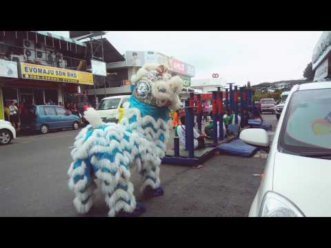 Sandakan CNY 2017 Tan Chong Lion Dance