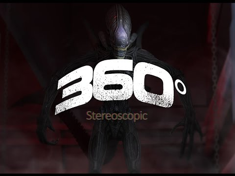 Alien, 360° Stereoscopic VR.