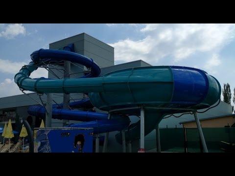 Aquapark Trnava - Spacehole tobogán - YouTube f813d3fbabb