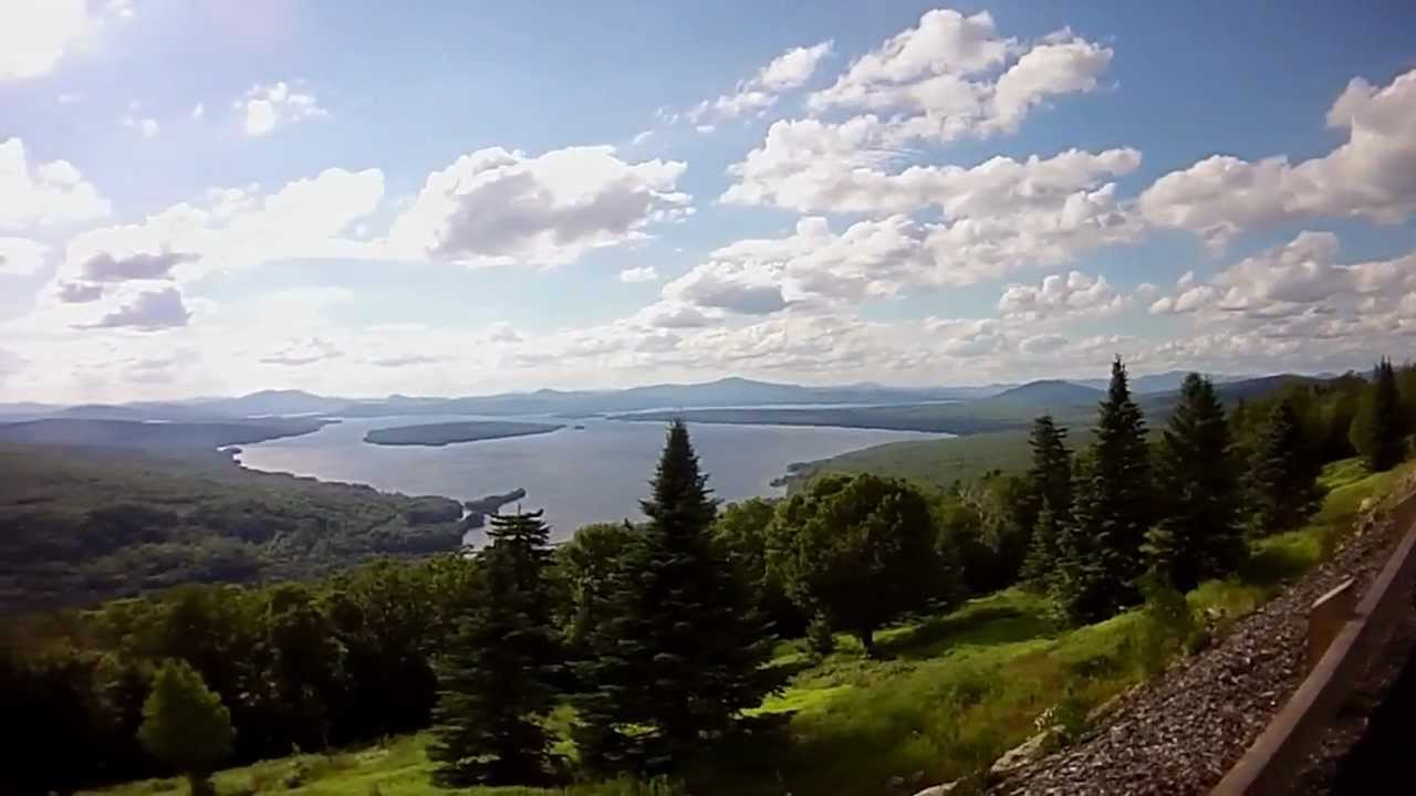 Height of land rangeley maine youtube for Free land maine