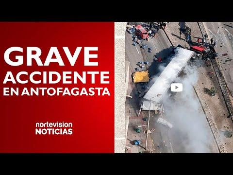 GRAVE ACCIDENTE VEHICULAR EN ANTOFAGASTA