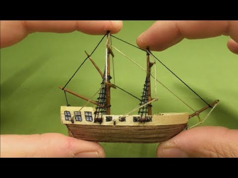 BEST/SMALLEST SHIP from wood-HOW TO DIY