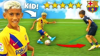 This 8 Year Old Kid is the Next LIONEL MESSI!.. AMAZING FOOTBALL SKILLS