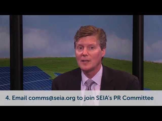 Message from the CEO: Help Grow SEIA  - Buy American