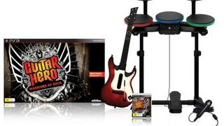 Unboxing Guitar Hero Warriors of Rock (Super Bundle)