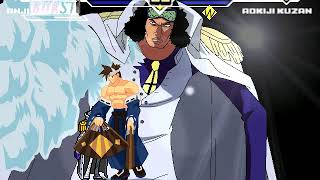 Awesome Mugen Federation 761 Anji vs Admiral Aokiji aka Kuzan