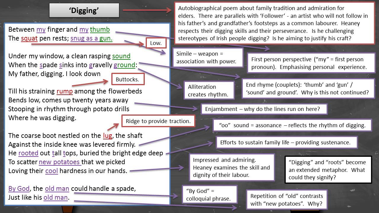 digging by seamus heaney essay seamus heaney digging annotation seamus heaney digging annotation seamus heaney digging annotation poetry essay