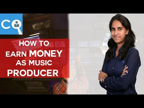 How you can earn money as MUsic Producer