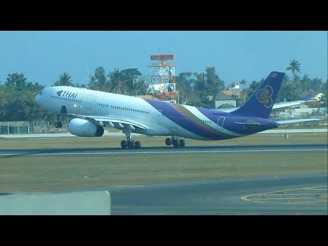Plane Spotting at Bali | Ngurah Rai International Airport