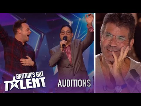 James Stott Ex Marine Leaves Simon Cowell Speechless With Danger Act Britain S Got Talent 2020 Youtube