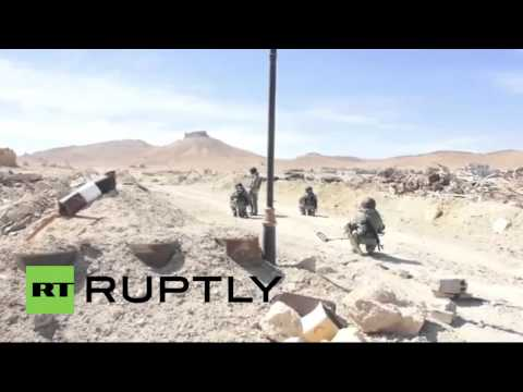 Syria: Over 120 IEDs and mines cleared from Palmyra by Russian sappers