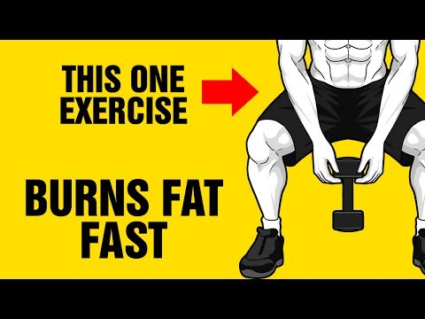How To Burn Fat Fast Using Just One Exercise - 6 Pack Abs - One Arm Dumbbell Swing