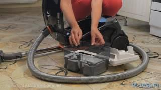 Тест пылесоса Thomas AQUA-BOX Compact