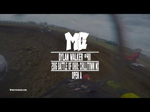 Crazy Battle in Open A at Battle of Ohio:Chillitown MX Ft. Dylan Walker in 4K -MotoChasin