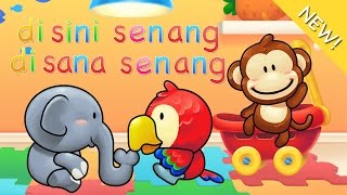 Download lagu Lagu Anak Indonesia | Di Sini Senang Di Sana Senang Mp3