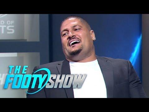 Beau Ryan takes aim at Willie Mason's perfect teeth | NRL Footy Show 2018