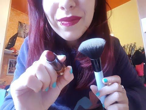 ASMR ITA: TRUCCO RILASSANTE! Make-up Roleplay