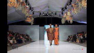 Shadiat Alaso Oke   Lagos Bridal Fashion Week 2018 LoveWeddingsNG