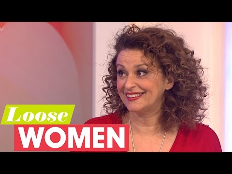 Nadia Sawalha Confesses To Cutting Off Kaye Adams | Loose Women