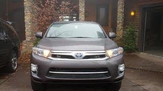 Toyota Highlander Hybrid 2011 Videos
