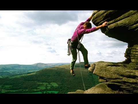 Learning How To Rock Climb In The Peak District