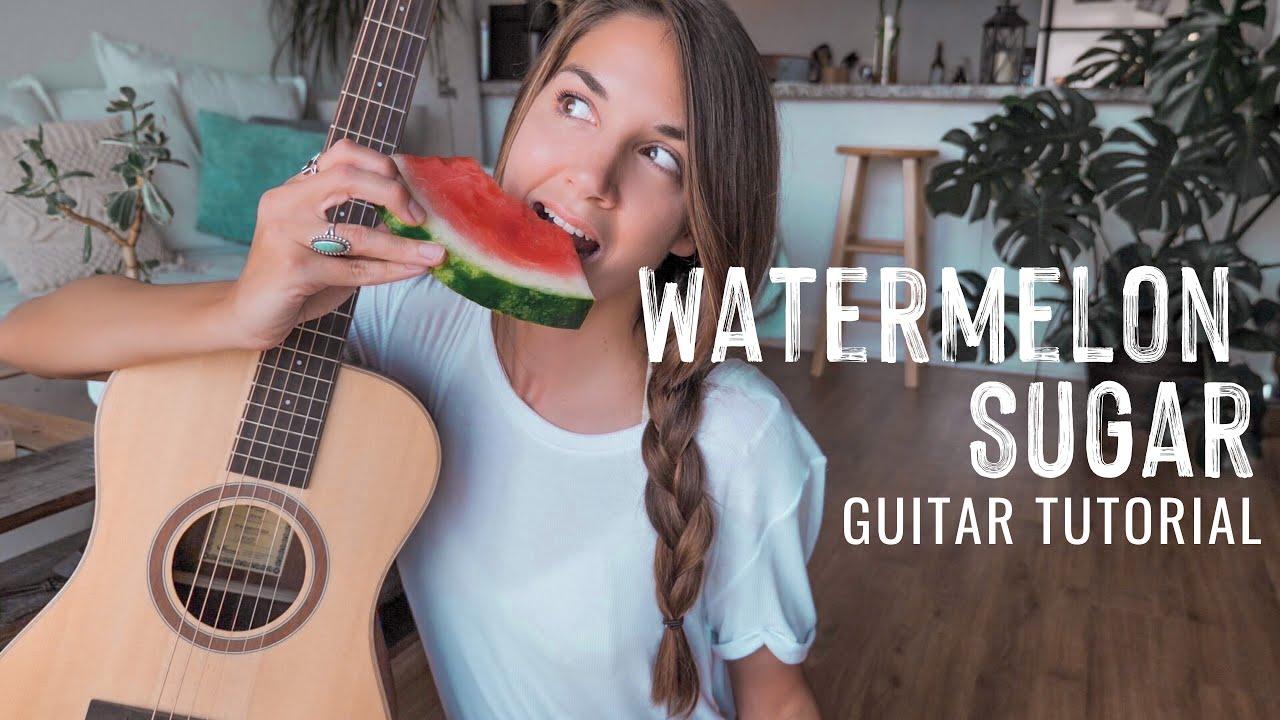 Watermelon Sugar 🍉 Harry Styles   #short guitar tutorial
