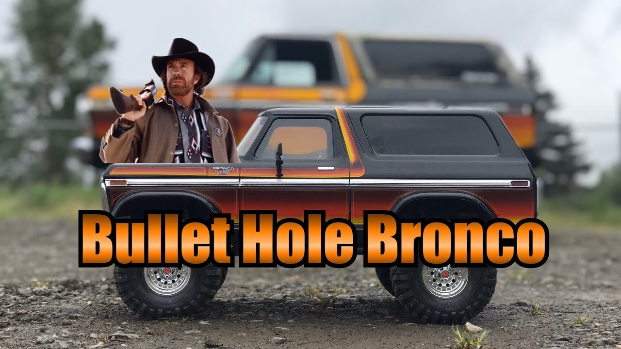 "Bullet Hole Bronco with a crazy ""Origin Story"""