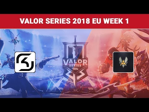 Highlights: SK Gaming vs Team Vitality | Valor Series 2018 Europe Week 1