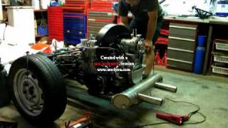 moteur cox 2165 Type 4 premier démarrage