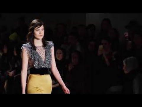 Jenny Packham Fall Winter 2016/2017 New York Fashion Week