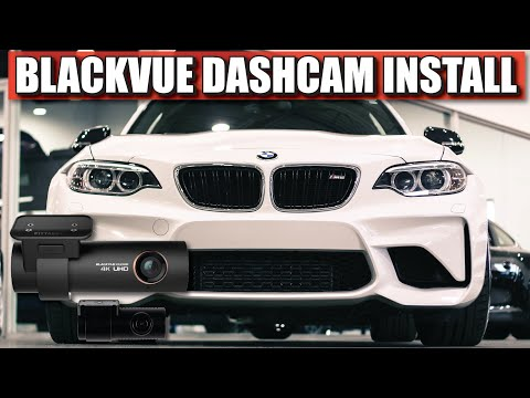 INSTALLING MY BLACKVUE DASHCAM ON THE BMW F87 M2. - Full Install And Discount Code.