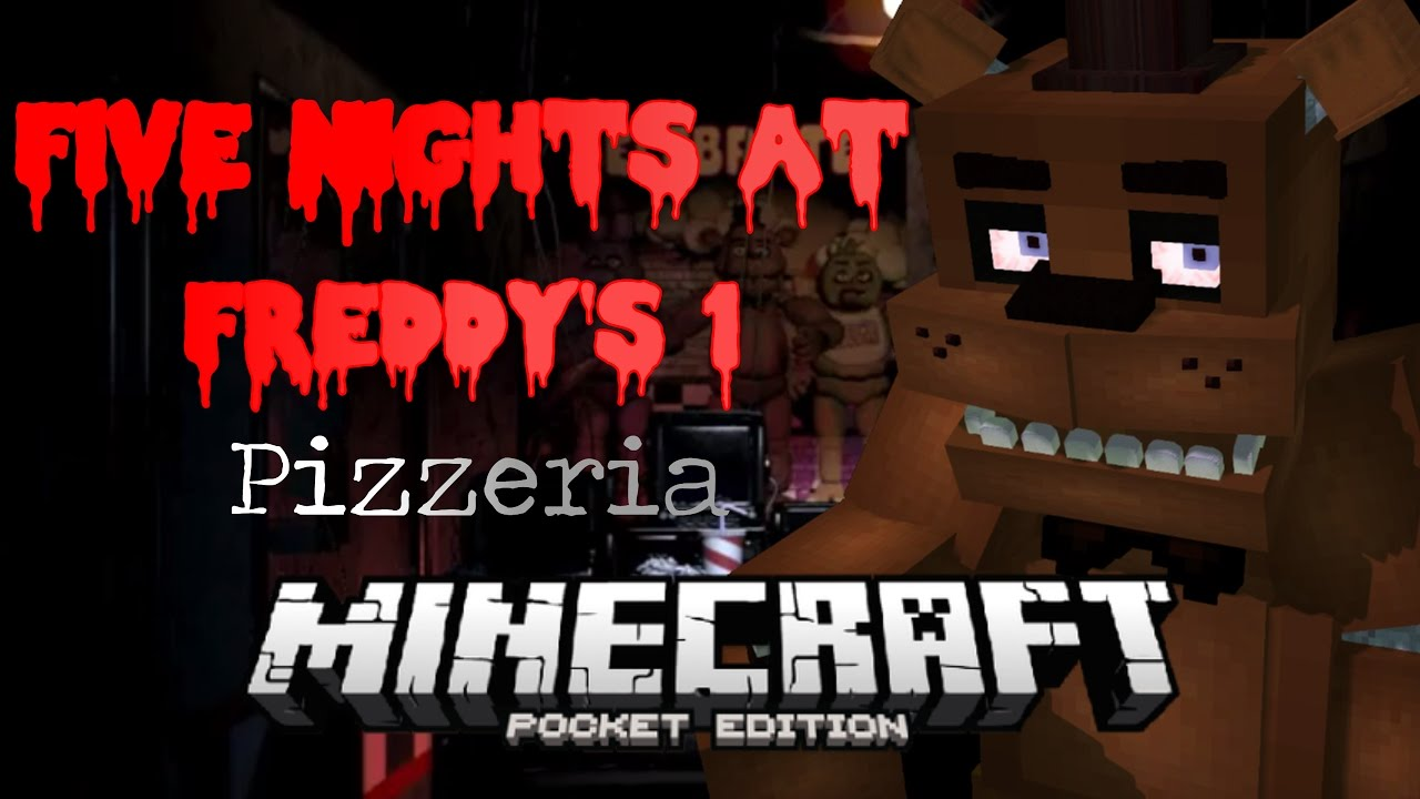 Best FNAF 1 Map   Download   Minecraft PE   YouTube