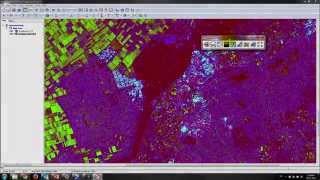 Performing SAR Polarimetric Analyses in Geomatica